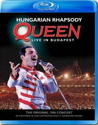 Cover Queen - Hungarian Rhapsody - Live In Budapest [DVD]